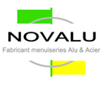 Novalu Fabricant menuiseries Alu & Acier Logo